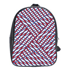 Abstract Chaos Confusion School Bag (xl)