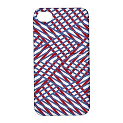 Abstract Chaos Confusion Apple Iphone 4/4s Hardshell Case With Stand