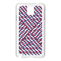 Abstract Chaos Confusion Samsung Galaxy Note 3 N9005 Case (white)