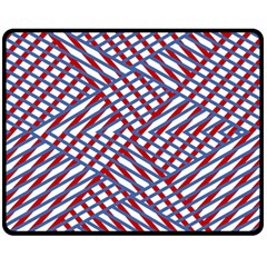 Abstract Chaos Confusion Double Sided Fleece Blanket (medium)