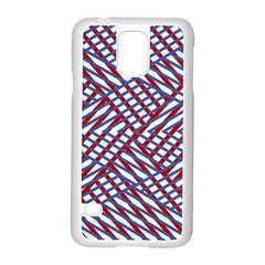 Abstract Chaos Confusion Samsung Galaxy S5 Case (white)