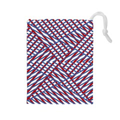 Abstract Chaos Confusion Drawstring Pouches (large)