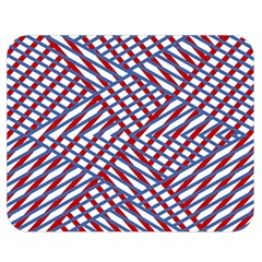 Abstract Chaos Confusion Double Sided Flano Blanket (medium)