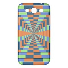 Fabric 3d Color Blocking Depth Samsung Galaxy Mega 5 8 I9152 Hardshell Case