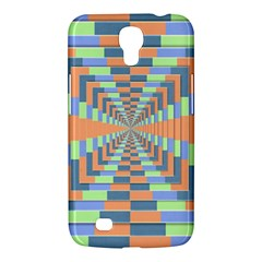Fabric 3d Color Blocking Depth Samsung Galaxy Mega 6 3  I9200 Hardshell Case