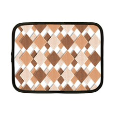 Fabric Texture Geometric Netbook Case (small)