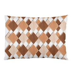 Fabric Texture Geometric Pillow Case