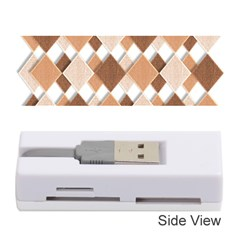 Fabric Texture Geometric Memory Card Reader (stick)