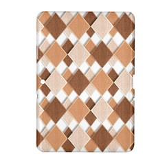 Fabric Texture Geometric Samsung Galaxy Tab 2 (10 1 ) P5100 Hardshell Case