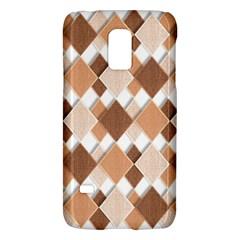 Fabric Texture Geometric Galaxy S5 Mini