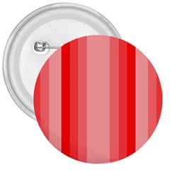 Red Monochrome Vertical Stripes 3  Buttons