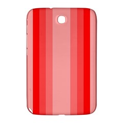Red Monochrome Vertical Stripes Samsung Galaxy Note 8 0 N5100 Hardshell Case