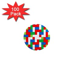 Geometric Maze Chaos Dynamic 1  Mini Magnets (100 Pack)