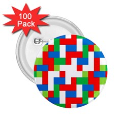 Geometric Maze Chaos Dynamic 2 25  Buttons (100 Pack)