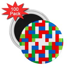 Geometric Maze Chaos Dynamic 2 25  Magnets (100 Pack)