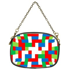 Geometric Maze Chaos Dynamic Chain Purses (one Side)