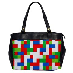 Geometric Maze Chaos Dynamic Office Handbags