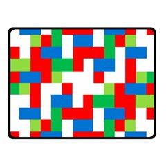 Geometric Maze Chaos Dynamic Fleece Blanket (small)