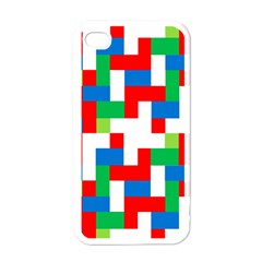 Geometric Maze Chaos Dynamic Apple Iphone 4 Case (white)