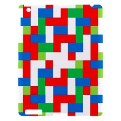 Geometric Maze Chaos Dynamic Apple Ipad 3/4 Hardshell Case