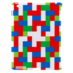 Geometric Maze Chaos Dynamic Apple Ipad 3/4 Hardshell Case (compatible With Smart Cover)