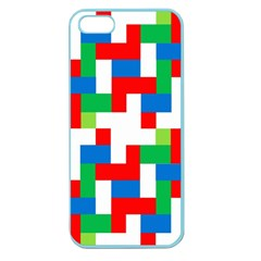 Geometric Maze Chaos Dynamic Apple Seamless Iphone 5 Case (color)