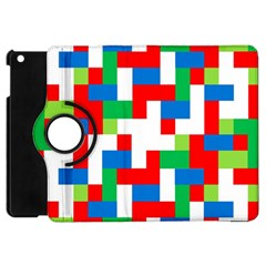 Geometric Maze Chaos Dynamic Apple Ipad Mini Flip 360 Case