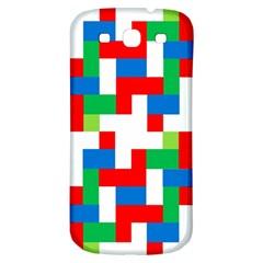 Geometric Maze Chaos Dynamic Samsung Galaxy S3 S Iii Classic Hardshell Back Case by Nexatart