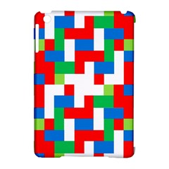 Geometric Maze Chaos Dynamic Apple Ipad Mini Hardshell Case (compatible With Smart Cover)