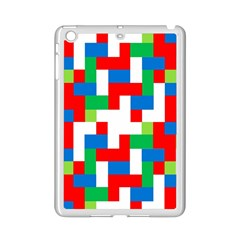 Geometric Maze Chaos Dynamic Ipad Mini 2 Enamel Coated Cases