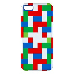 Geometric Maze Chaos Dynamic Apple Iphone 5 Premium Hardshell Case