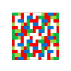 Geometric Maze Chaos Dynamic Satin Bandana Scarf