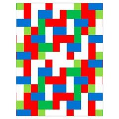 Geometric Maze Chaos Dynamic Drawstring Bag (large)