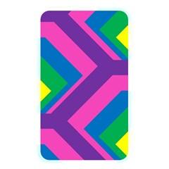 Geometric Rainbow Spectrum Colors Memory Card Reader