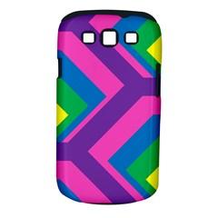 Geometric Rainbow Spectrum Colors Samsung Galaxy S Iii Classic Hardshell Case (pc+silicone)
