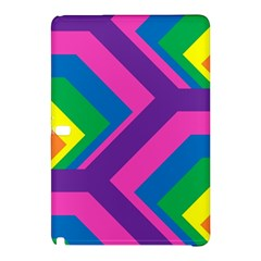Geometric Rainbow Spectrum Colors Samsung Galaxy Tab Pro 10 1 Hardshell Case