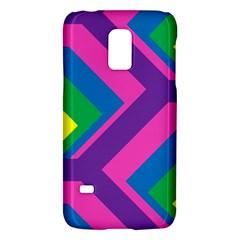 Geometric Rainbow Spectrum Colors Galaxy S5 Mini