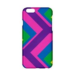 Geometric Rainbow Spectrum Colors Apple Iphone 6/6s Hardshell Case
