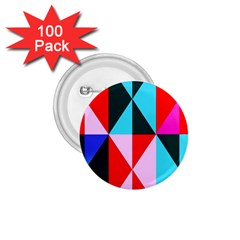 Geometric Pattern Design Angles 1 75  Buttons (100 Pack)
