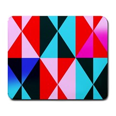 Geometric Pattern Design Angles Large Mousepads