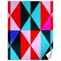 Geometric Pattern Design Angles Canvas 12  X 16