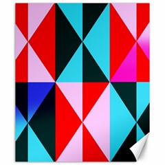 Geometric Pattern Design Angles Canvas 20  X 24