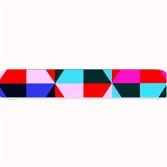 Geometric Pattern Design Angles Small Bar Mats