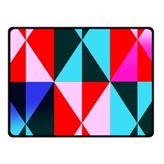Geometric Pattern Design Angles Fleece Blanket (small)