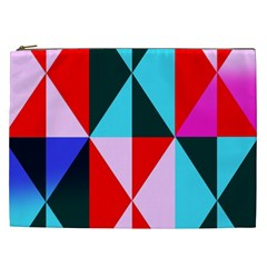 Geometric Pattern Design Angles Cosmetic Bag (xxl)
