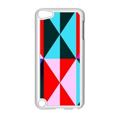 Geometric Pattern Design Angles Apple Ipod Touch 5 Case (white)
