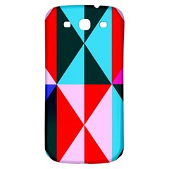 Geometric Pattern Design Angles Samsung Galaxy S3 S Iii Classic Hardshell Back Case