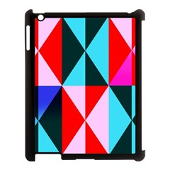 Geometric Pattern Design Angles Apple Ipad 3/4 Case (black)