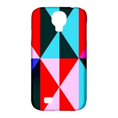 Geometric Pattern Design Angles Samsung Galaxy S4 Classic Hardshell Case (pc+silicone)