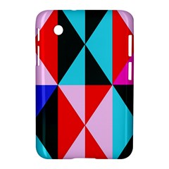 Geometric Pattern Design Angles Samsung Galaxy Tab 2 (7 ) P3100 Hardshell Case